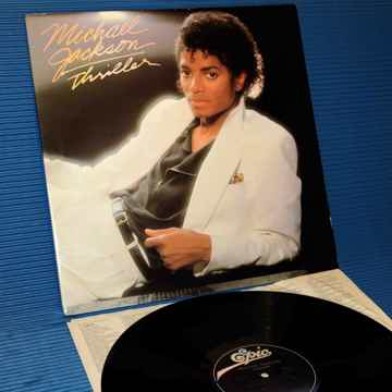 """MICHAEL JACKSON - """"Thriller"""" - Epic 1982 Early Pressing"""