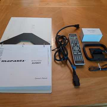 Marantz AV8001 or AV8802A