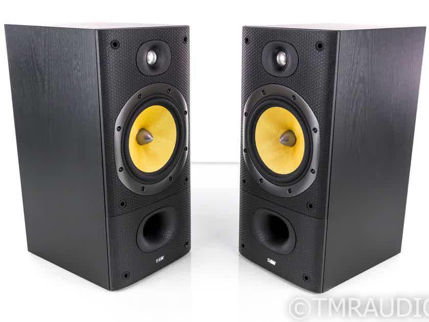 B&W DM602 S3 Bookshelf Speakers; Black Ash Pair; DM-602S3 (20230)