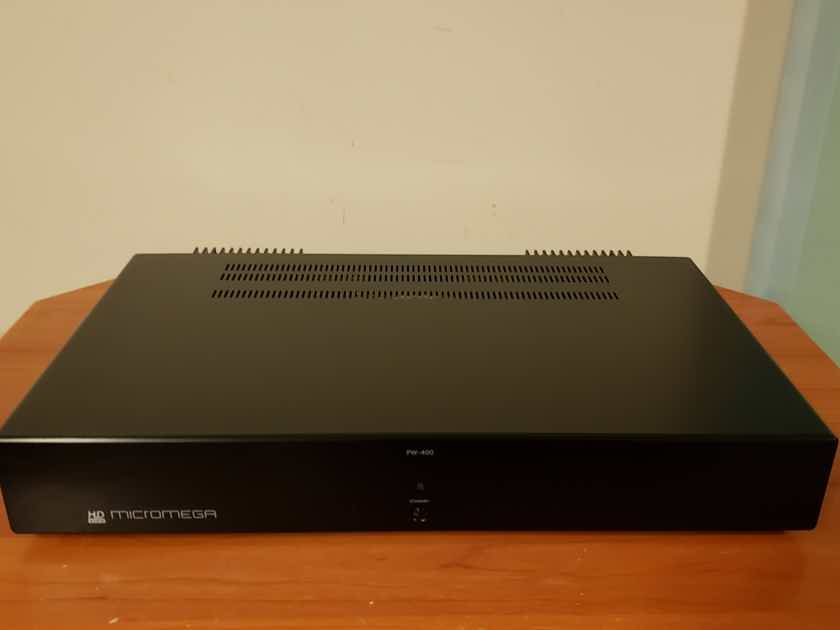 MicroMega PW-400 Stereo Power Amplifier.