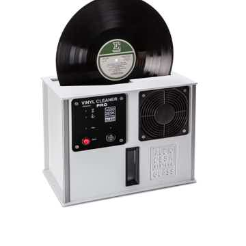Audio Desk Vinyl Cleaner PRO in white