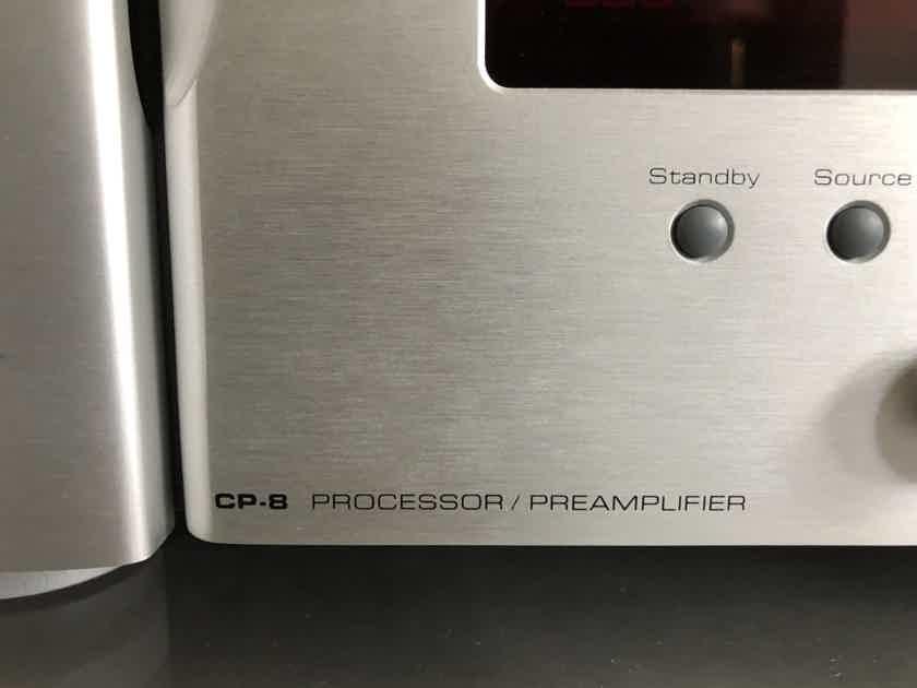 Simaudio Moon CP-8 Processor + Simaudio Moon HDS-8 HDMI Switcher