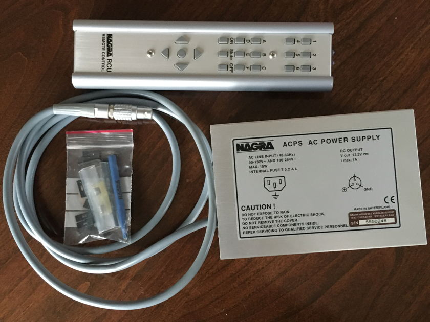 Nagra PL-L in like new condition with original box and manual