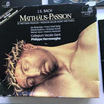 Matthaus Passion Cd box set Cd rom 1999 box as is