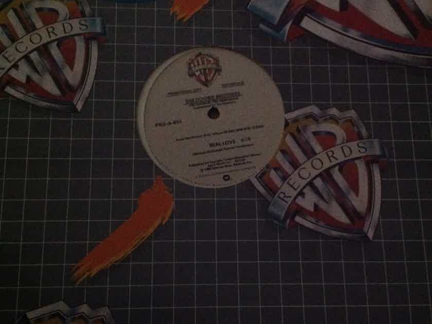 Doobie Brothers -  Real Love Promo 12 Inch Warner Brothers Records One Sided Pressing NM