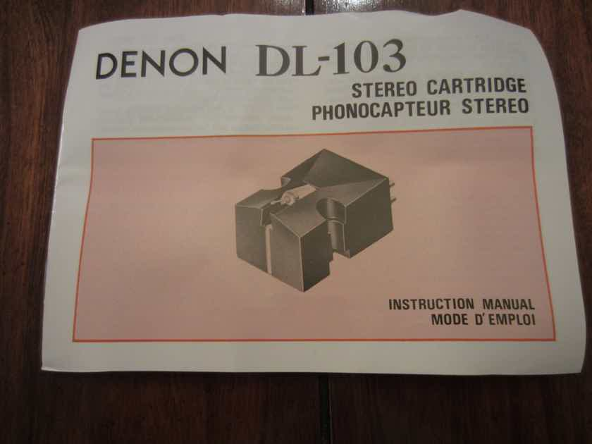 Denon  DL-103 Phono Cartridge NEW