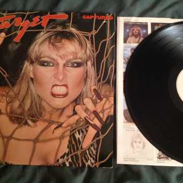 Target  Captured A & M Records White Label Promo LP