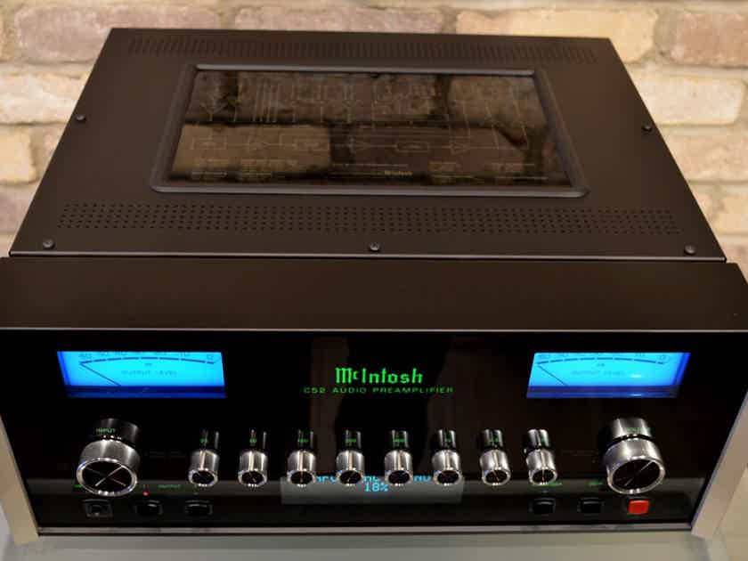 McIntosh C52 Reference Preamplifier - Mint Condition