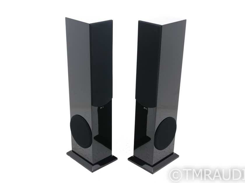 Aperion Audio Intimus 522D-PT Active Floorstanding Speakers; Gloss Black Pair (19917)