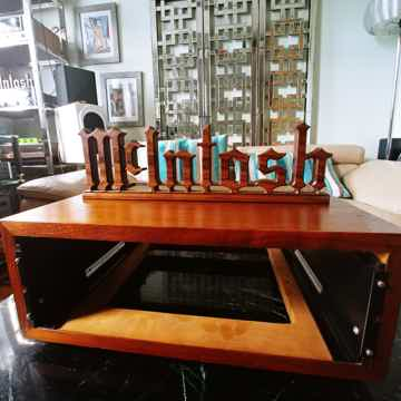 McIntosh L52 Slanted Leg Wood Cabinet