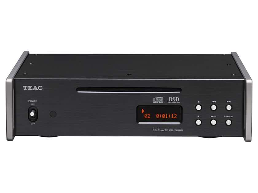 TEAC PD-501HR DSD/PCM/CD Player: Brand New-in-Box; Full Warranty; 50% Off; FREE SHIPPING !