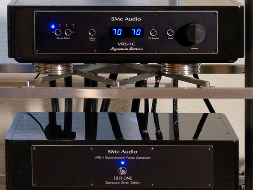 SMc Audio Hi Fi One Silver Linestage