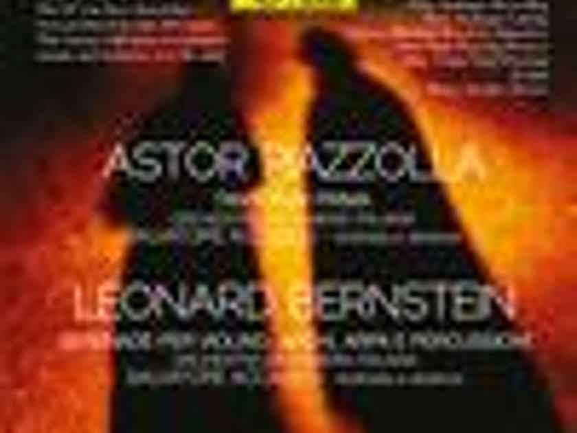 Salvatore Accardo Leonard Bernstein - Piazzolla: Limited to 496 copies