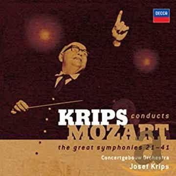 Mozart: Great Symphonies (21-41) Josef Krips - Decca -6CD