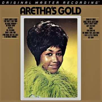 Aretha Franklin - Aretha's Gold - 45rpm - 2LPs On MFSL ...