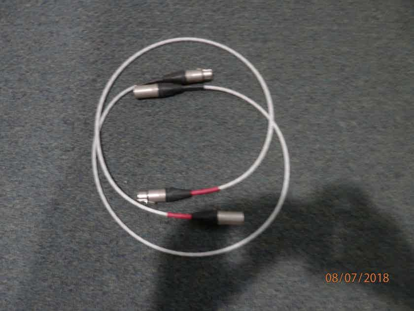 Signal Cable Inc. Silver Resolution Interconnects Neutrix XLR 3FT