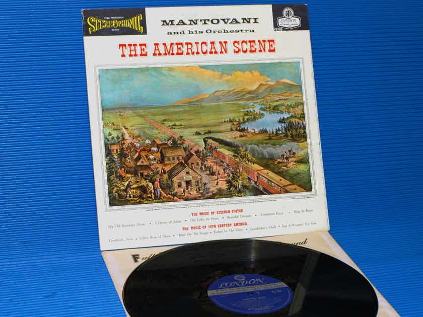"MANTOVANI  - ""The American Scene"" -  London Blue Back 1960 1st Pressing"