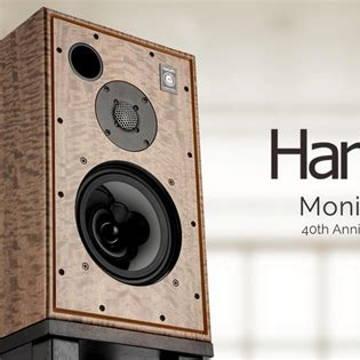 Harbeth 40th Anniversary Monitor 30.2 Speakers