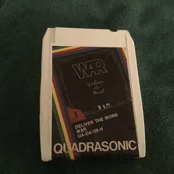 War Deliver The Word UA Records Quadrasonic 8 Track