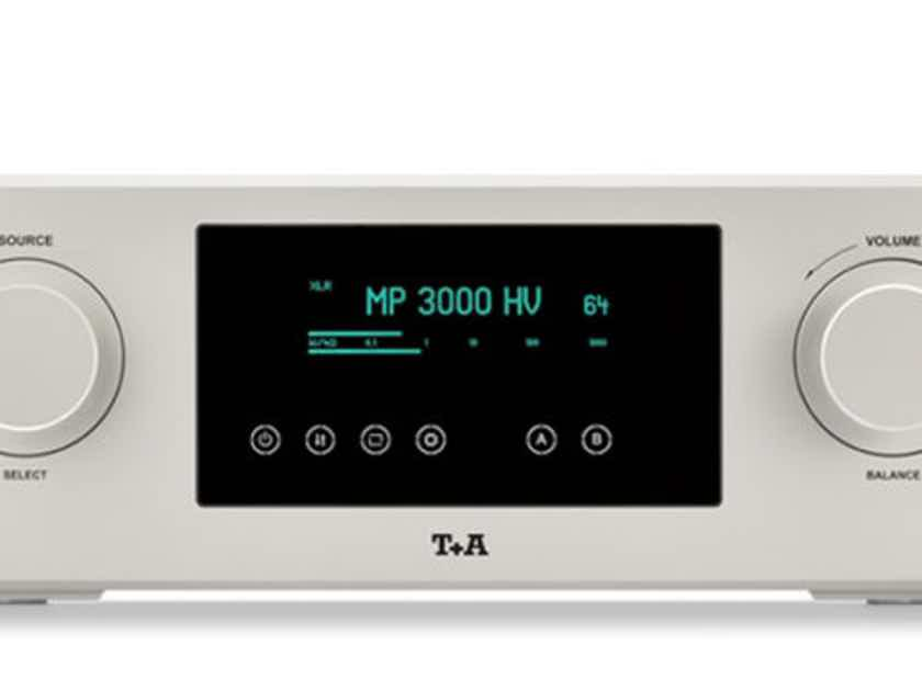 T+A Elektroakustik PA3000HV Integrated Amplifier. Silver Finish