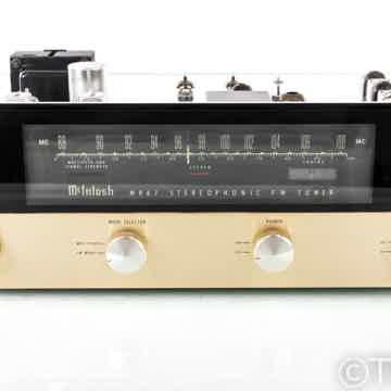 MR67 Vintage Tube FM Tuner