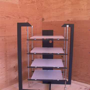 Novus, isolation platform with five shelves,
