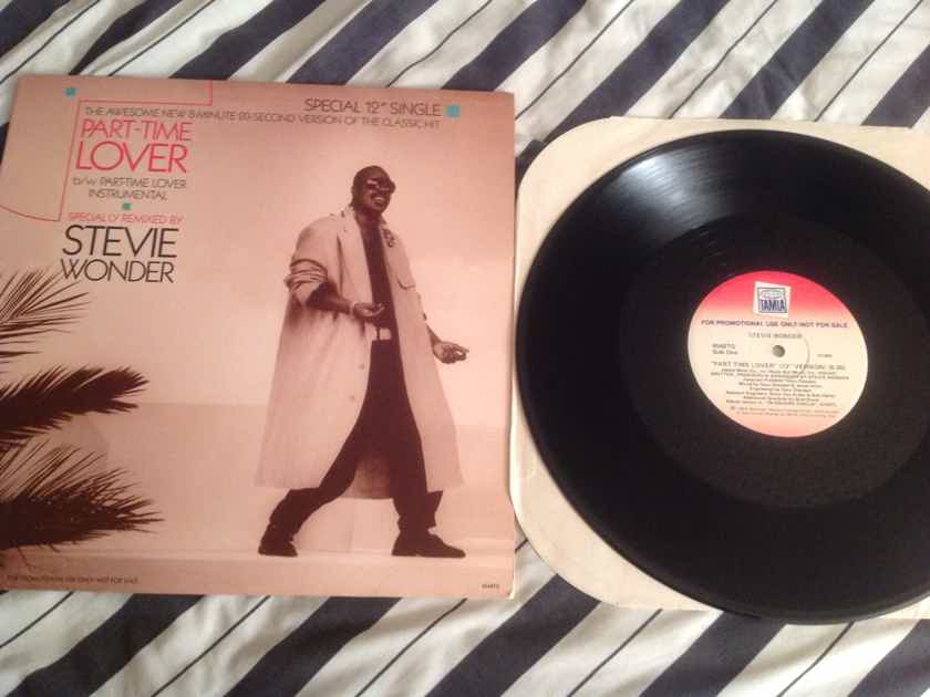 Stevie Wonder  Part Time Lover 8:20 Version 45RPM Tamla Records