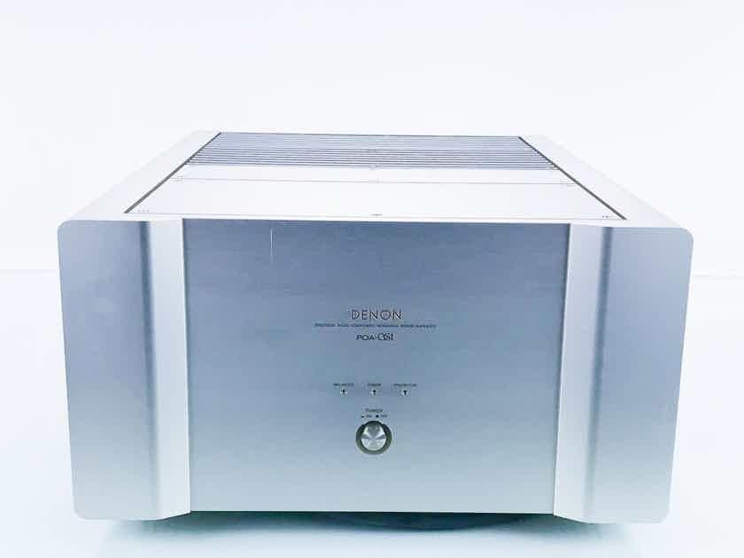Denon POA-S1 Mono Power Amplifier; POAS1 (Only One Available) (16615)