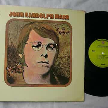 JOHN RANDOLPH MARR LP--SELF TITLED--mega rare orig 1970