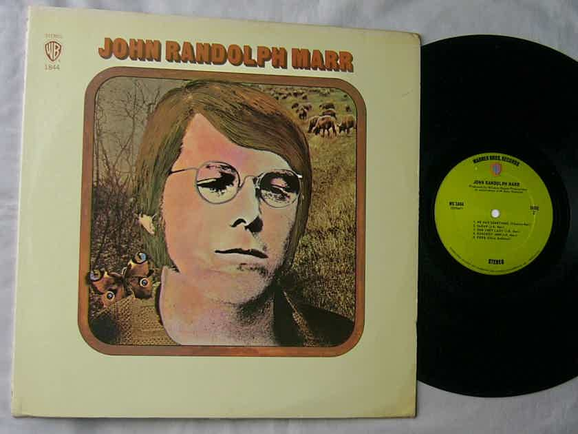 JOHN RANDOLPH MARR LP--SELF - TITLED--mega rare orig 1970 album on Warner Bros Records
