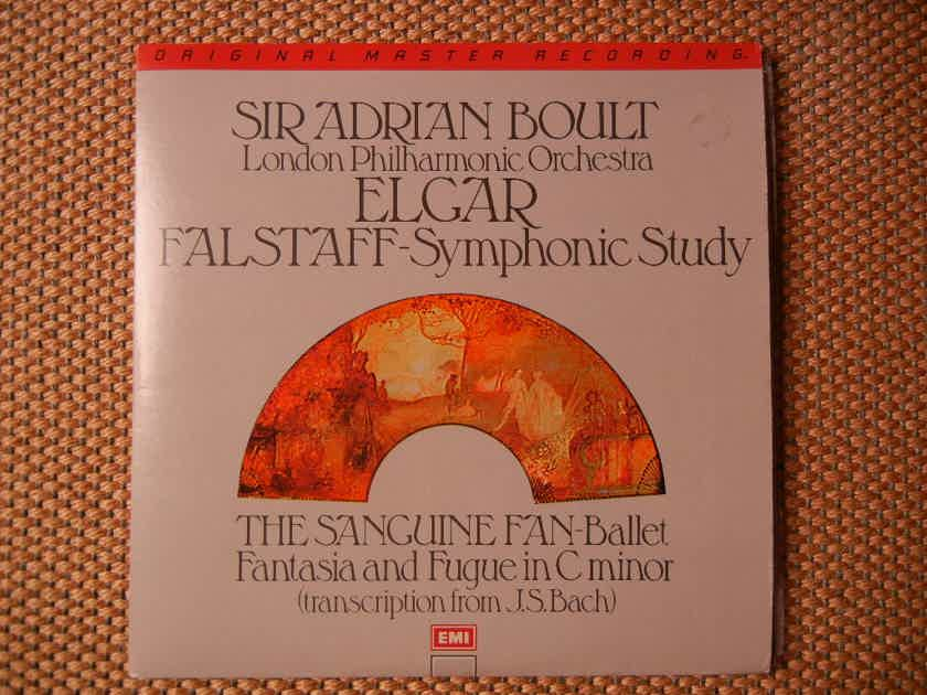 Elgar - Fantasia/Fantasia/The Sanguine Fan MFSL 2-501 (2-LP's) Original Master Recording