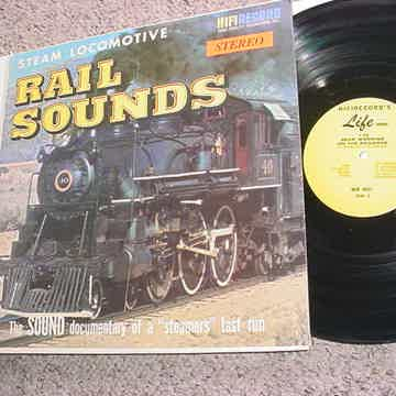 Steam locomotive Rail sounds lp record the sound documentary of a steamers last run