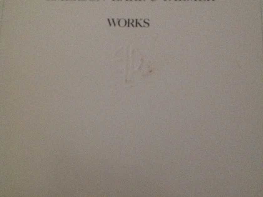 Emerson Lake And Palmer - Works Volume 2 Atlantic Records Promo  Stamp Front Cover Vinyl LP NM