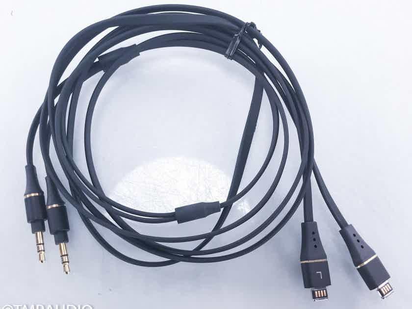 Audeze Dual 3.5mm Headphone Cable 2m Balanced Interconnect (15284)