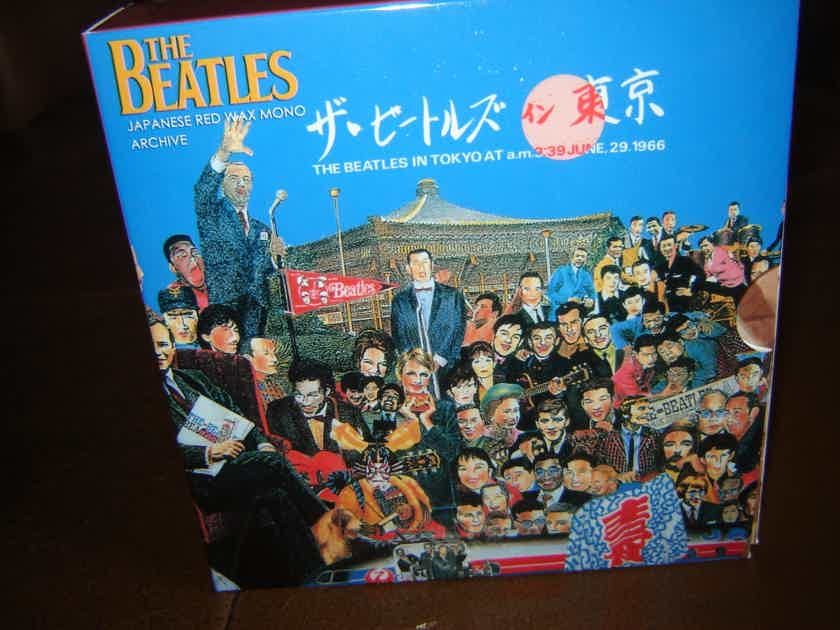 BEATLES DR EBBETTS MINI CD BOX SET - JAPANESE RED WAX MONO AUDIOPHILE IMPORT NEW