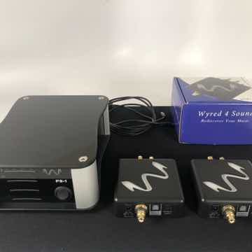 Wyred 4 Sound - Remedy Reclocker (2) with PS-1 Power Su...