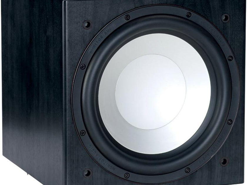 Monitor Audio W12 Silver - Powered Sub-Woofer w/ DSP