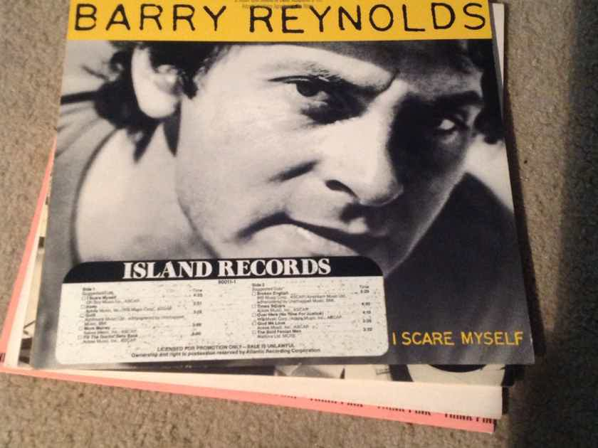 Barry Reynolds - I Scare Myself Island Records Promo Grace Jones Session Guitarist Vinyl NM