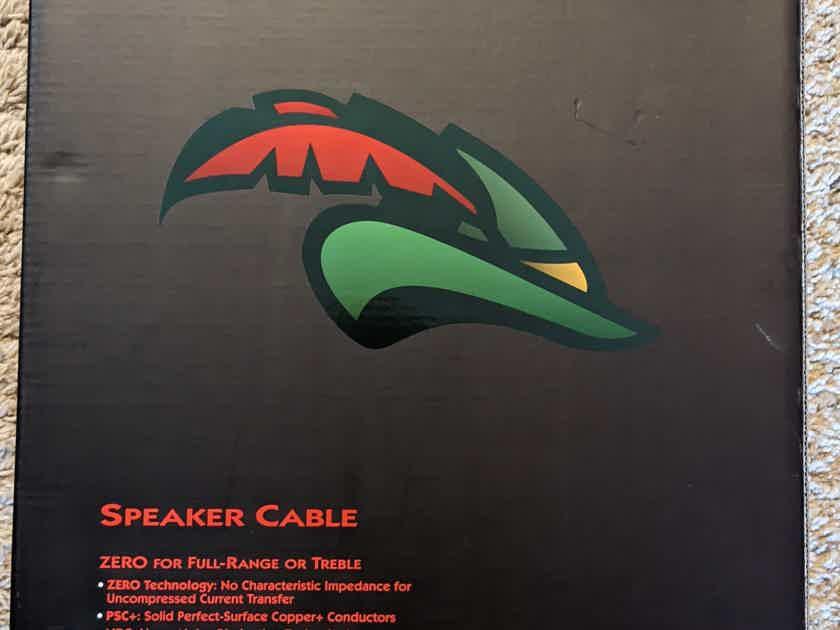 AUDIOQUEST SERIES ROBIN HOOD ZERO SPEAKER CABLE 8 feet Pair Full Range