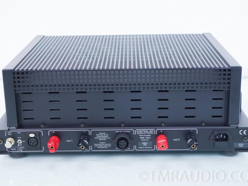 Octave  MRE 130 / II Monoblock Tube Power Amplifier; Pair (8155)