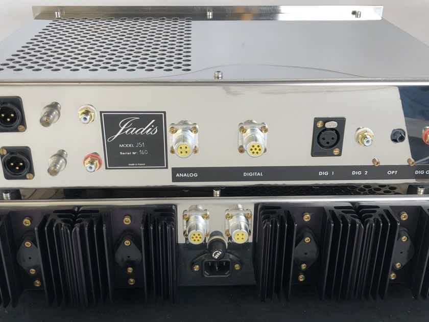 Jadis JS1 MKII Dual Chassis DAC - Demo Unit and Like New