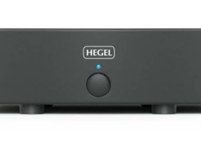 Hegel H20 Power Amplifier (Black)