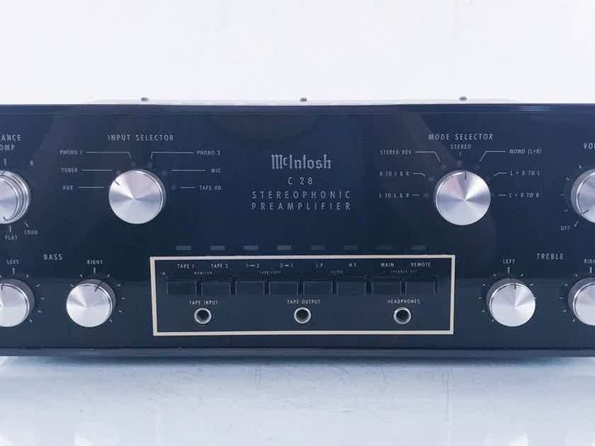 McIntosh C 28 Vintage Stereo Preamplifier C28 (14290)