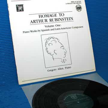 "VARIOUS / Allen   - ""Homage to Artur Rubinstein"" -  Mus..."