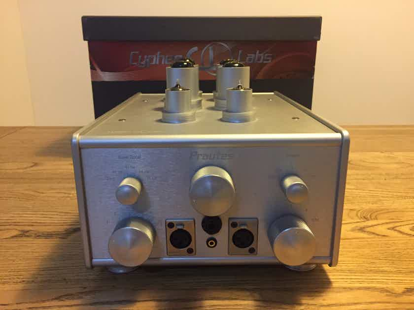 Cypher Labs Prautes Tube Amplifier 230V (RRP $4000)