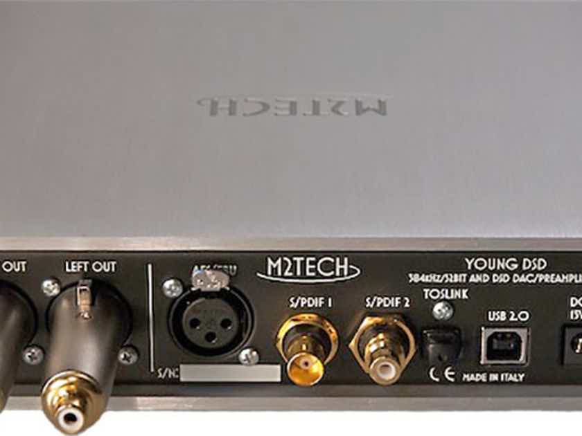 M2Tech Young DSD DAC + Preamp