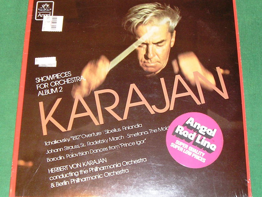 KARAJAN - SHOWPIECES for ORCHESTRA Album 2 - * 1967 ANGEL RECORDS * NEW/SEALED