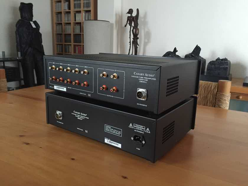CANARY AUDIO C800MKII TUBE PREAMPLIFIER