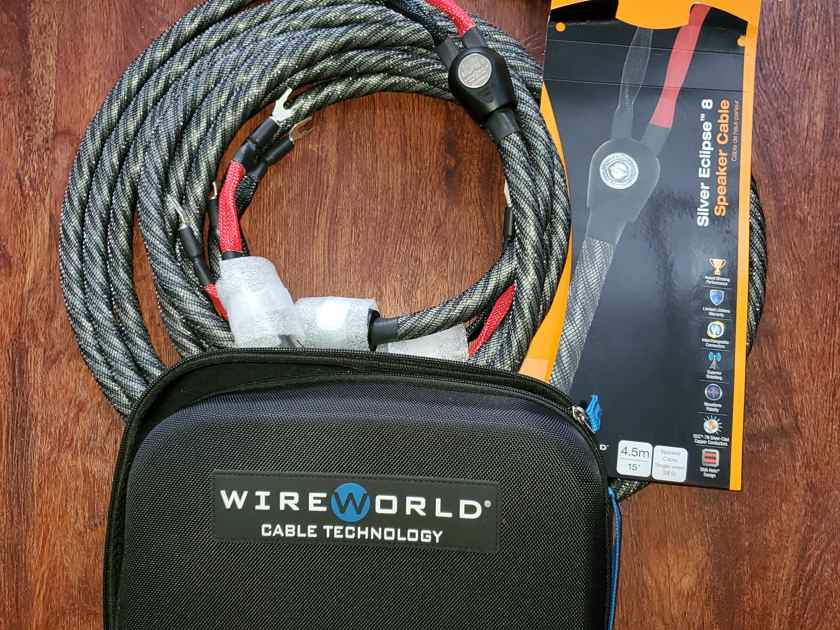 Wireworld Silver Eclipse 8 Speakers cables