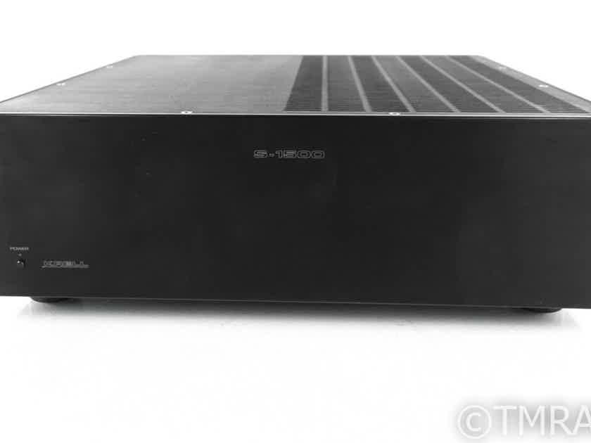 Krell S-1500 5 Channel Power Amplifier; Black; S1500 (21806)